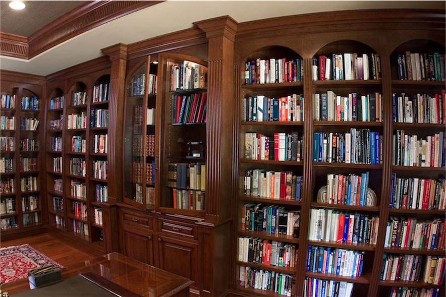 library bookshelf pinterest dma genius homes
