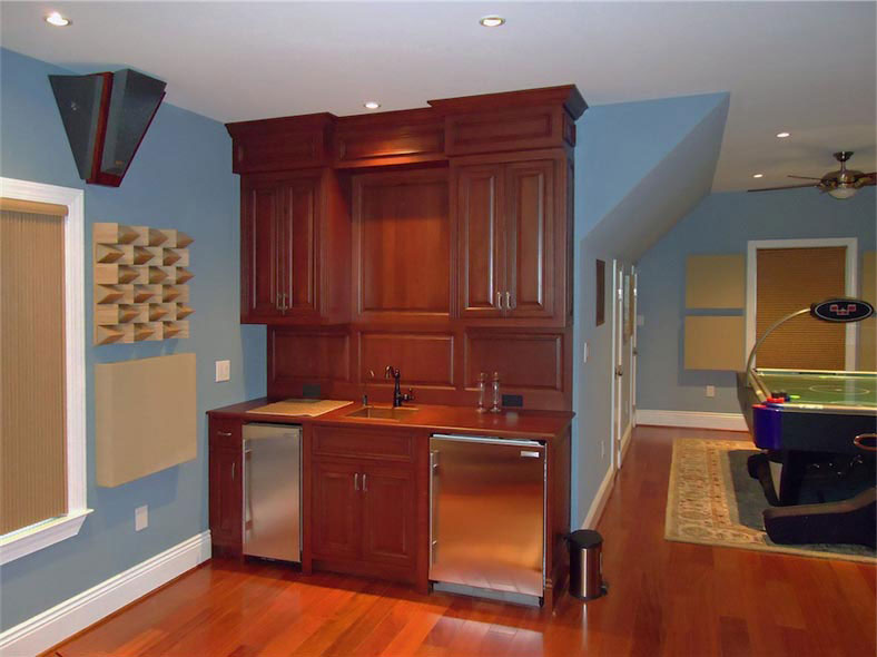Maryland Custom Bars Maryland Cabinets A Cut Above Inc - Custom home bars for sale