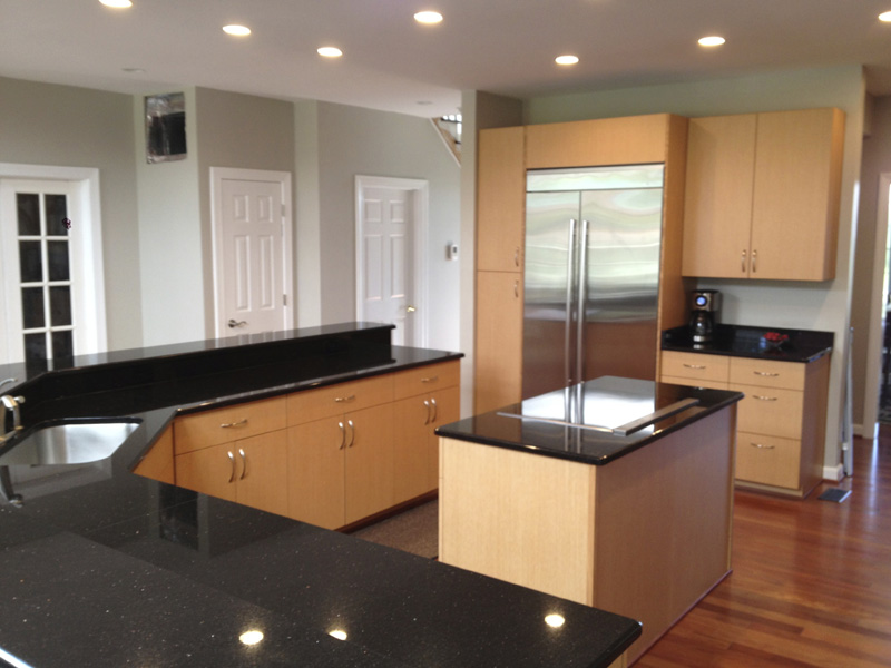 Kitchen With Maple Cabinets with Modern Kitchen With Maple Cabinets