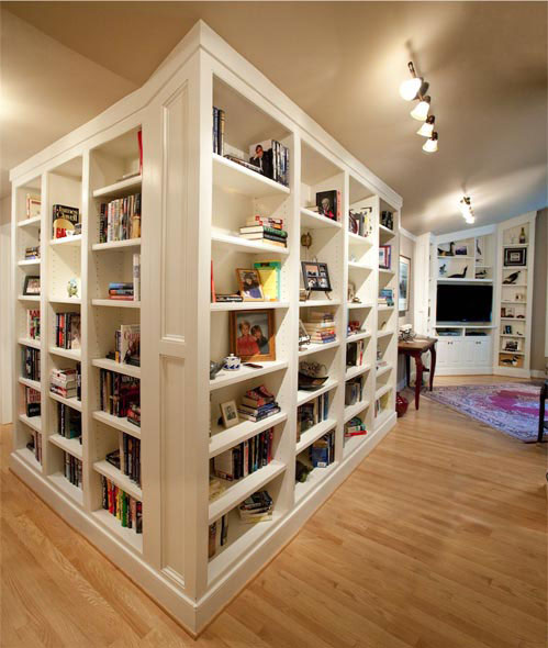 finish indianapolis custom links bookcase built and dark bookcases innovative bookshelves site in