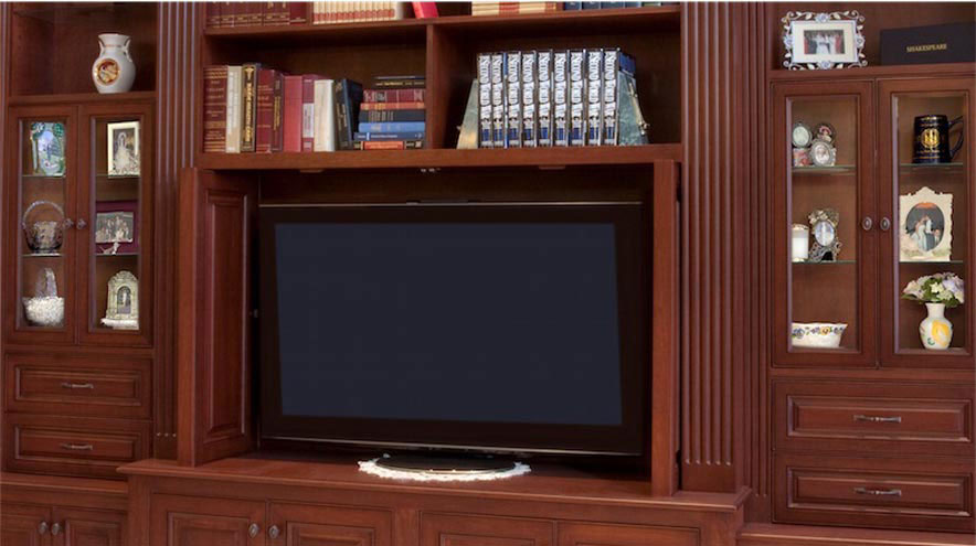 Delicieux 3 TV Cabinet Open